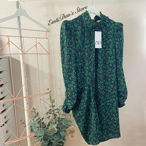 NWT Zara DRAPED DRESS size XXL